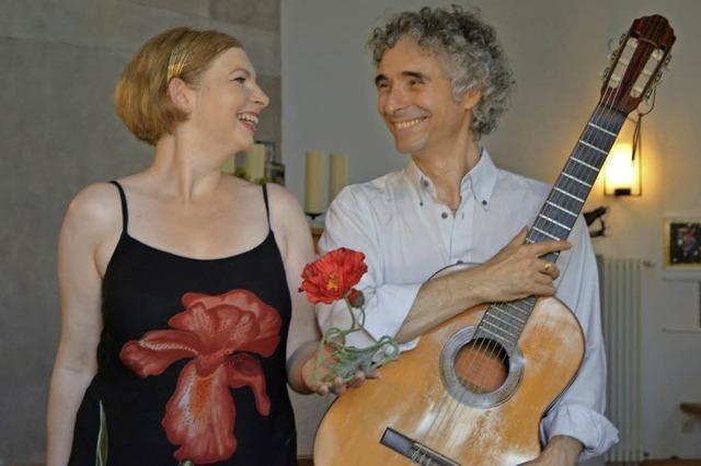Daniela Bianca Gierok und Gaetano mit ihrem Programm