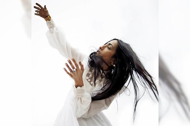 Marokkanerin Hindi Zahra im Rosenfelspark Lörrach