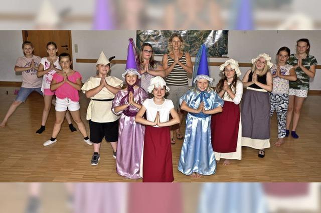 Moderner Tanz, alte Kostüme