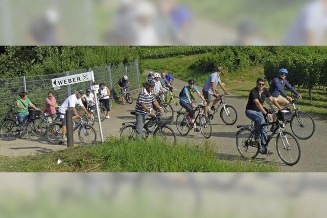 Eine schweißtreibende, aber auch informative Radtour