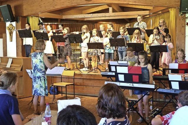 Görwihler Musikschüler zeigten, was sie können