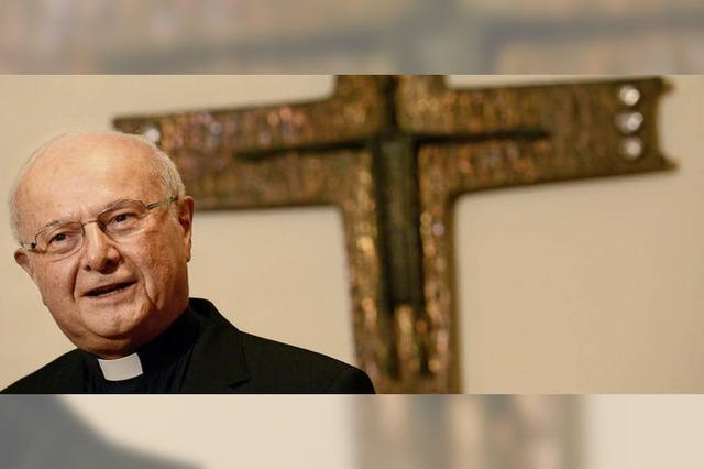 Feldgottesdienst mit Ex-Erzbischof Zollitsch am 17. Juli