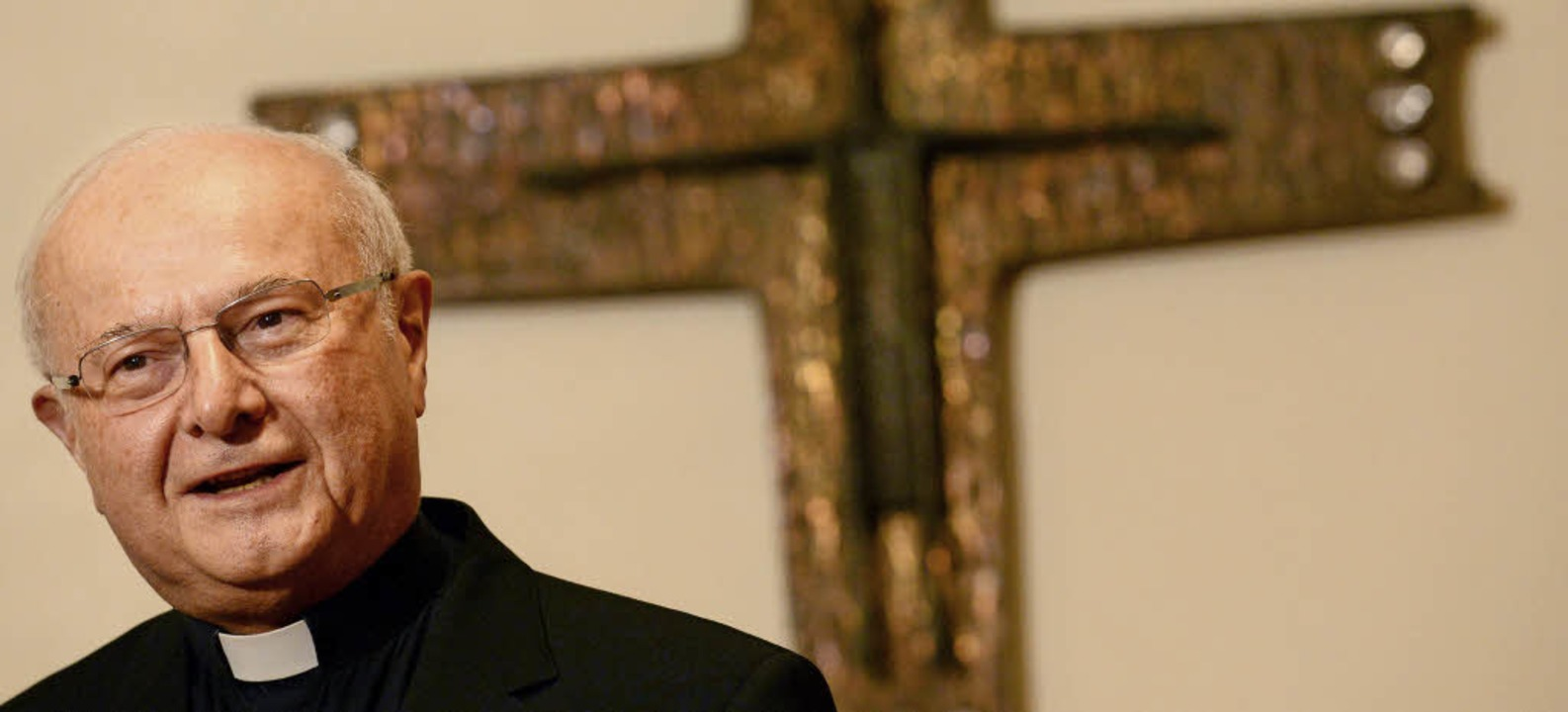 Von 2003 bis 2013 war Robert Zollitsch Erzbischof von Freiburg.   | Foto: dpa