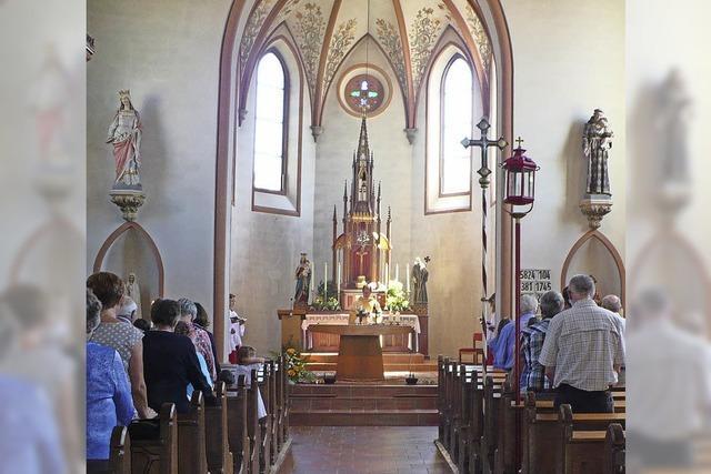 Gemeinde feiert ihren Schutzheiligen Benedikt
