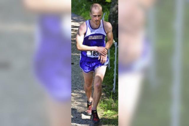 Sieger des Schauinsland-Berglaufs ist Michael Fehrenbach aus St. Märgen