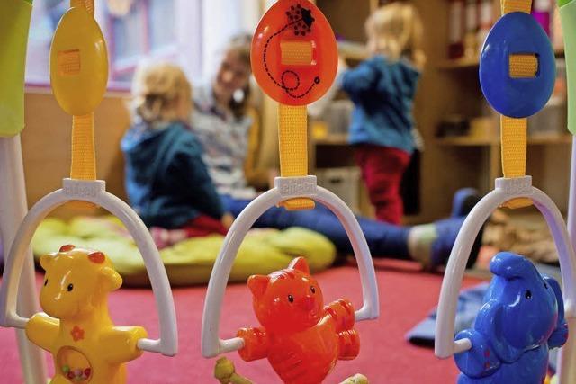 Stadt steckt 3,6 Millionen Euro in 54 weitere Betreuungsplätze für Kleinkinder
