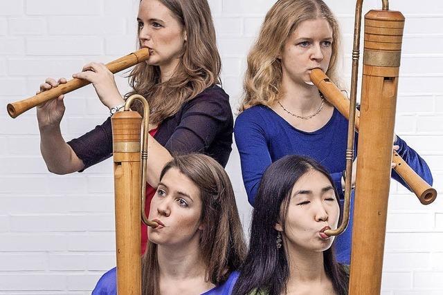 Das Hamburger Blockflötenensemble TriTonus spielt in Ettenheim und Freiburg