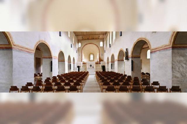 Christian Segmehl (Saxophon) und Johannes Mayr (Orgel) in der Kirche St. Cyriak in Sulzburg