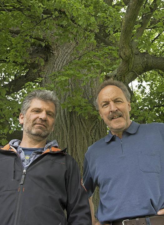 Harald Jetter und Ulrich Pfefferer  | Foto: mps