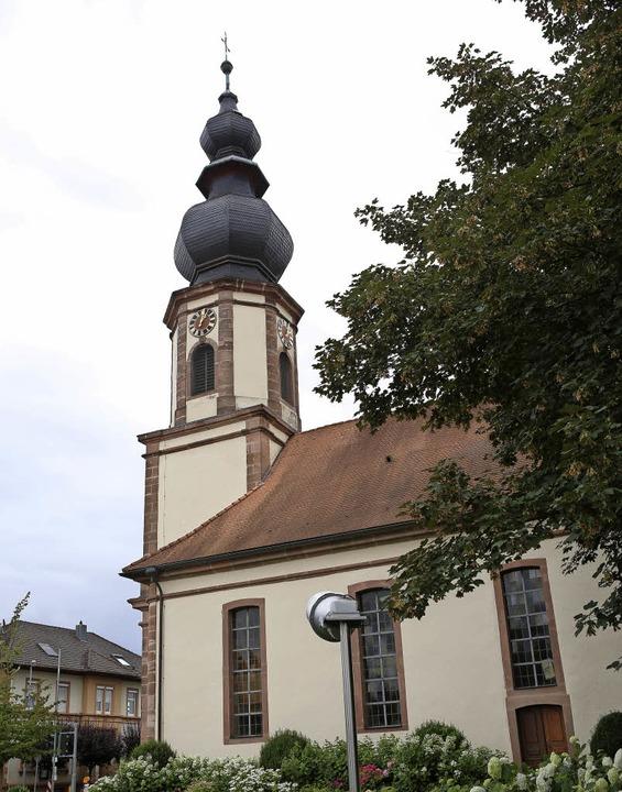 Die evangelische Kirche muss renoviert werden.     Foto: Chr. Breithaupt