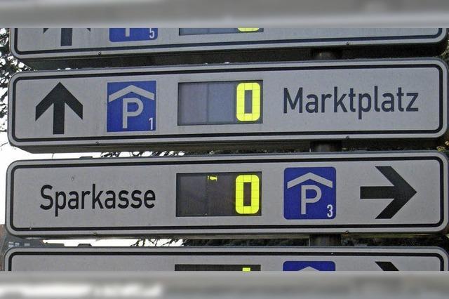 Offenburg lädt an vier Freitagen zum vergünstigten Parken ein