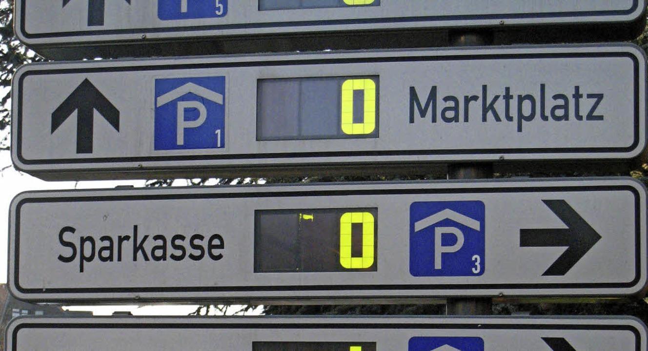 Zum Nulltarif kann im Sommer an vier F... in drei Parkhäusern  geparkt werden.   | Foto: Seller