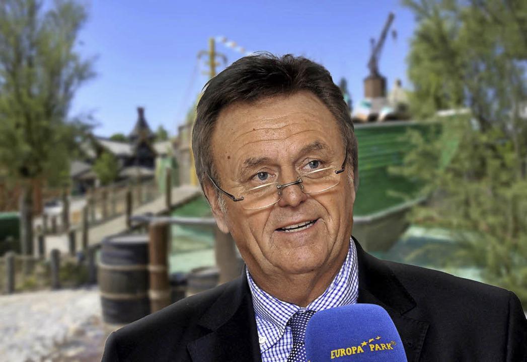 Roland Mack im Interview mit Radio Europa-Park  | Foto: Europa-Park