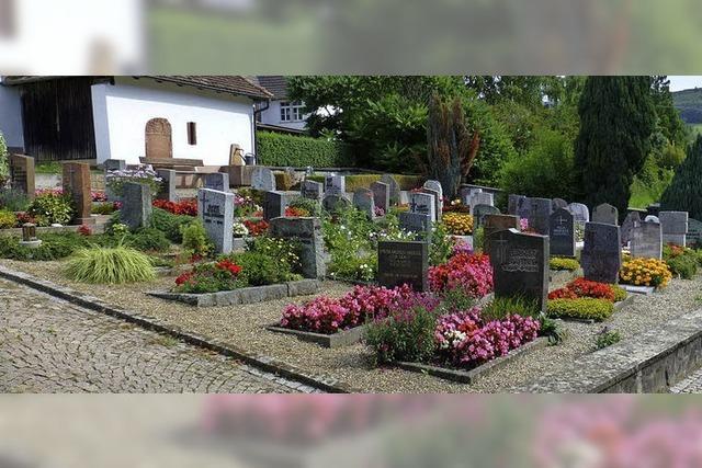 Höhere Friedhofsgebühren