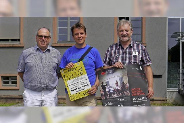 Musikfabrik-Open-Air und Genuss unter Platanen