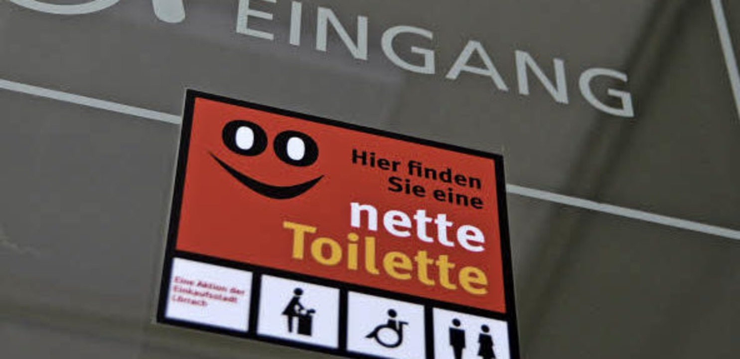 Eine »nette Toilette« gibt's im Rathaus.     Foto: Mark Alexander