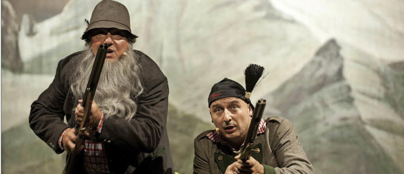 """Das Alpenmusical """"Der Watzmann r...g Ambros seine Abschiedsvorstellung .     Foto: Veranstalter"""