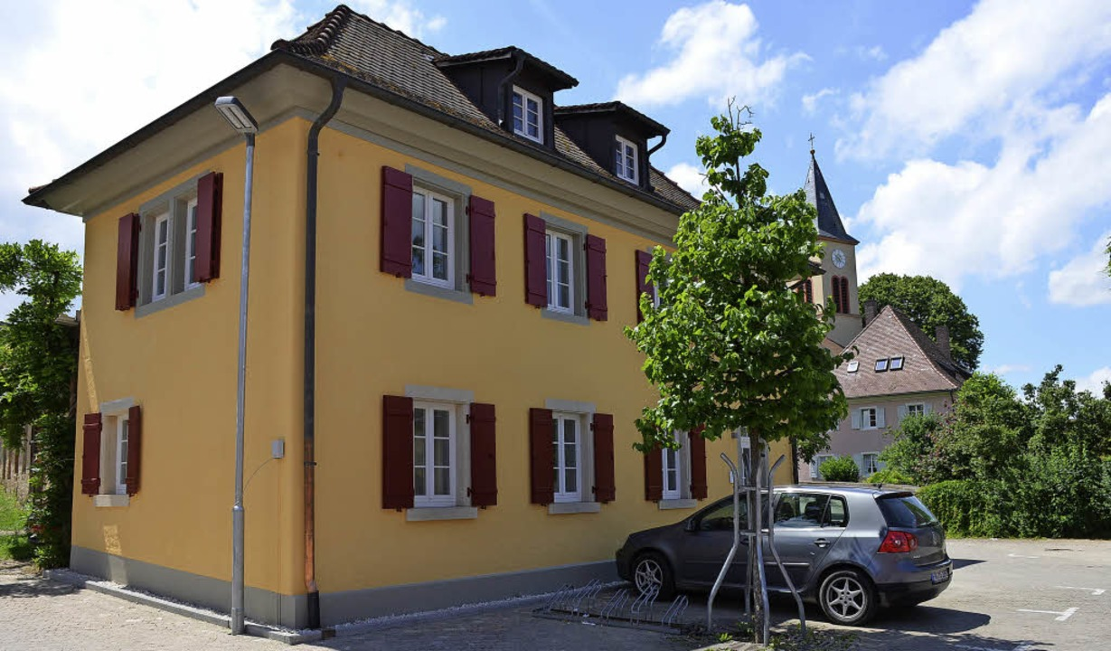 Das Alte Rathaus in der Ortsmitte von Bollschweil wurde umfassend saniert.   | Foto: Gabriele Hennicke