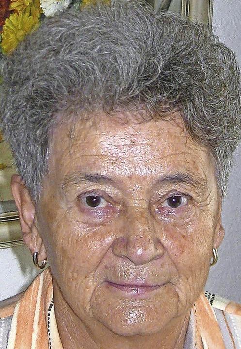 Margarete Rothweiler geborene Föhrenba...e, Donnerstag, 14. Juli, 85 Jahre alt.  | Foto: Christa Maier