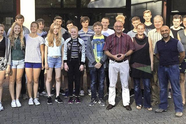 Besucher aus Bristol