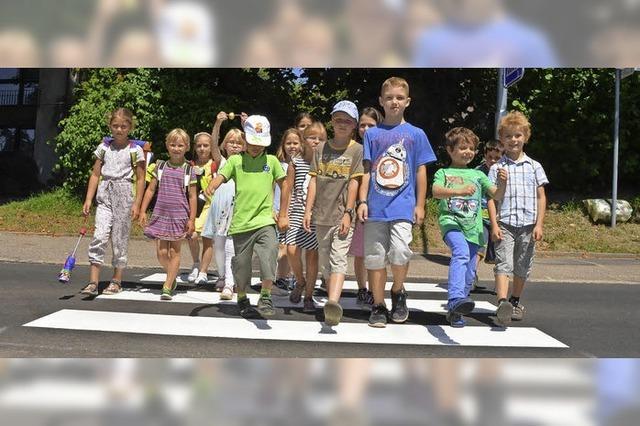 Sicherer Schulweg für coole Kinder