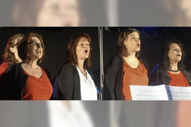 Gospelchor St. Josef reißt das Publikum mit