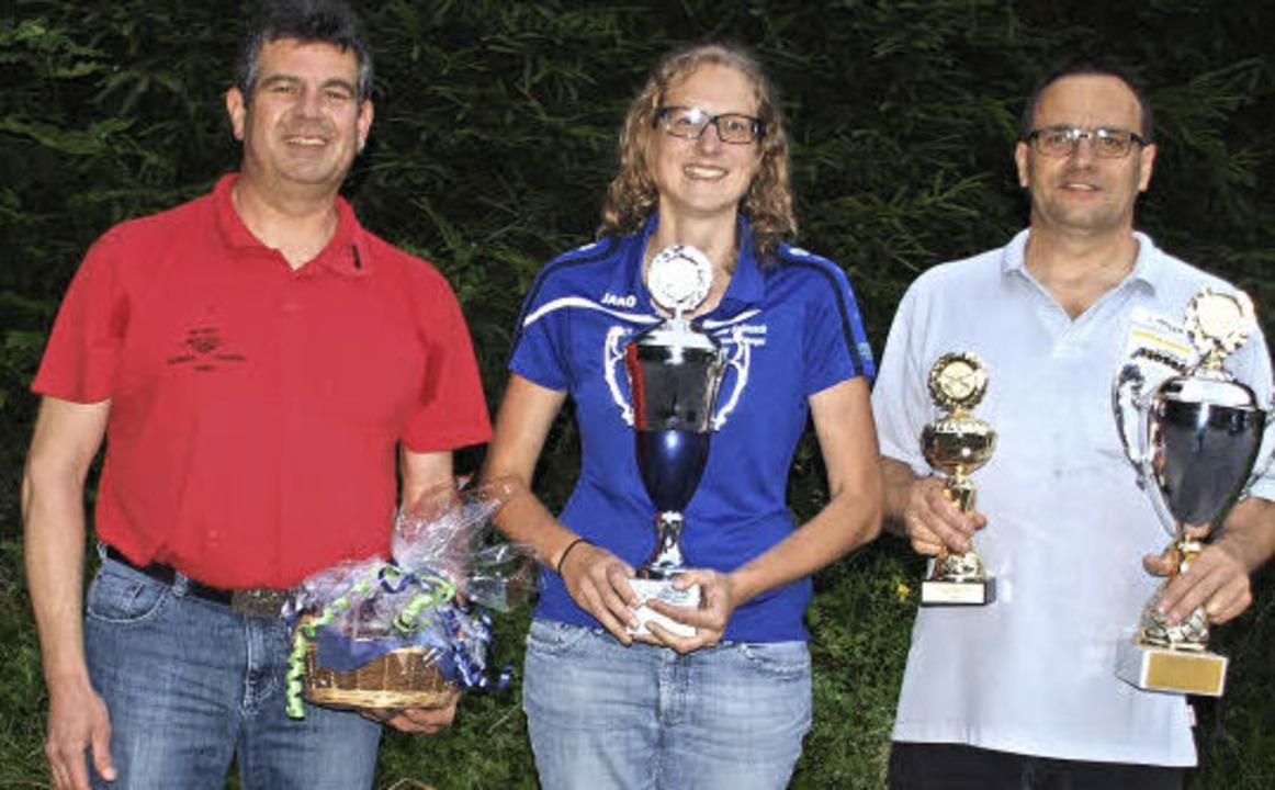 Oberschützenmeister Dietmar Eschbacher...haft zum fünften Mal in Folge siegte.   | Foto: Daniele Schüle