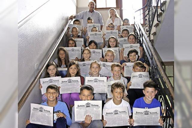 Zeitung in der Heinrich-Hansjakob-Schule