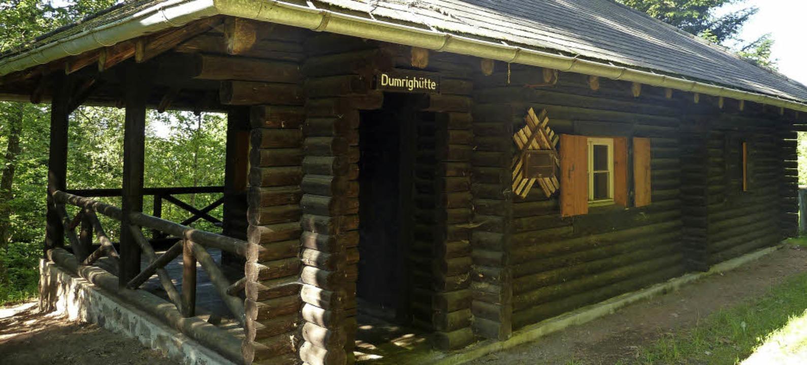 Die Dumrighütte bei Höchenschwand soll...Tagungszentrum zum Thema Wolf werden.   | Foto: Privat