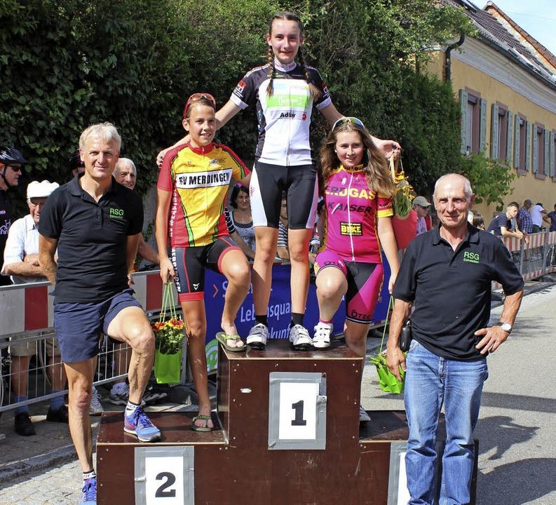 In der Gruppe U15 weiblich gewann  Fin... Jennifer Kuppel vom RSV Ellmendingen.  | Foto: Mario Schöneberg