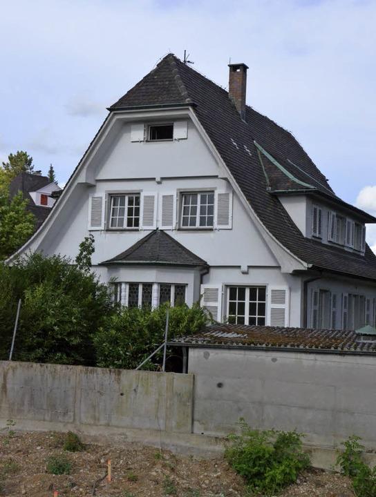 Wird vorübergehend zum Ausstellungslokal: Villa Schätzle   | Foto: Senf