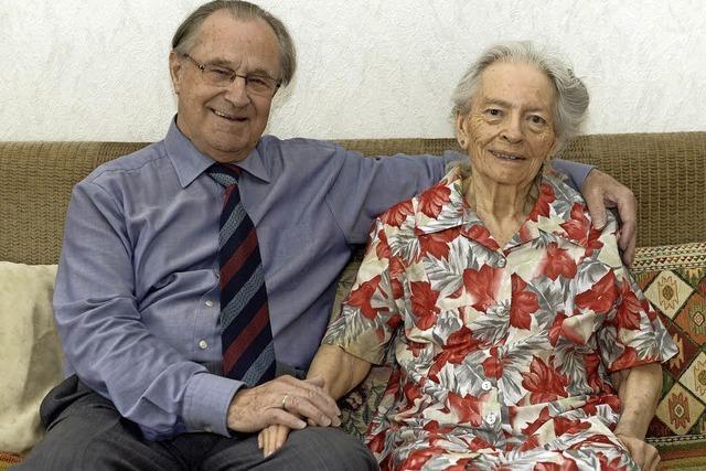 Marianne und Gerhard Neumann feiern Diamantene Hochzeit
