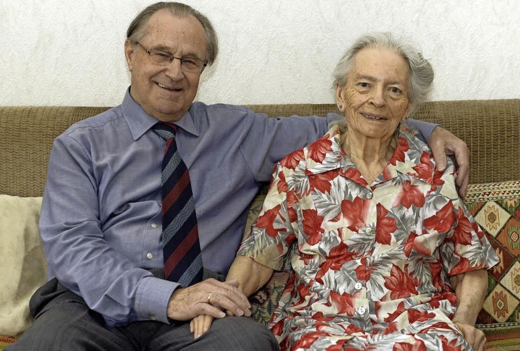 Gerhard und Marianne Neumann heute<ppp></ppp>  | Foto: Ingo Schneider/Privat
