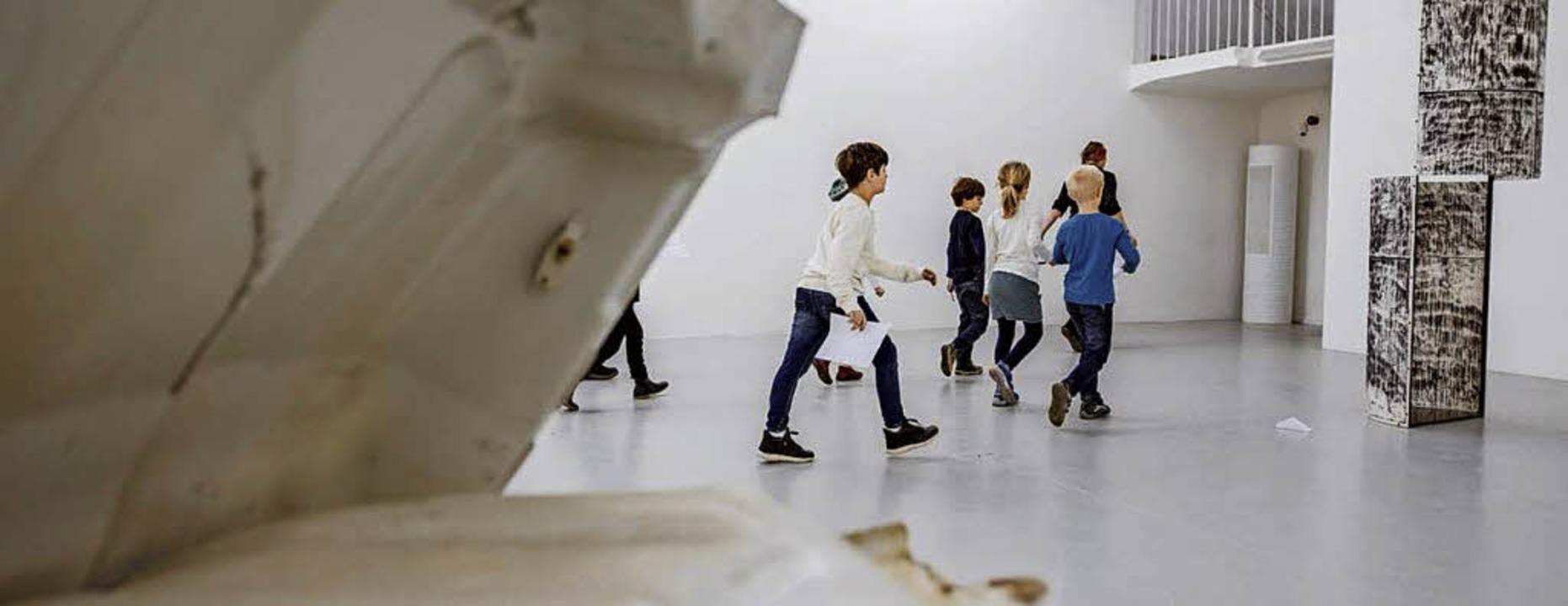 <BZ-FotoAnlauf>Kunst:</BZ-FotoAnlauf> ... und stellen jetzt im Kunstverein aus.  | Foto: Fionn Grosse