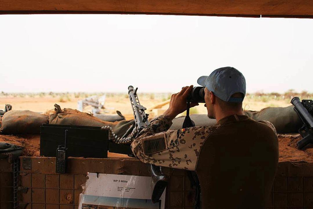 Afrika-Einsatz: Die Bundeswehr in Mali.  | Foto: dpa