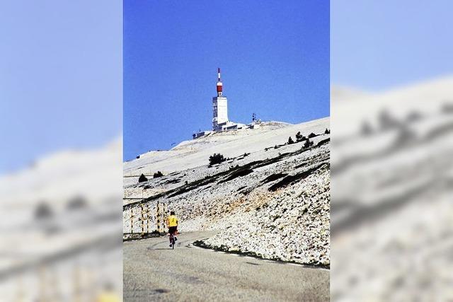 Mont Ventoux - die Qual am Nationalfeiertag