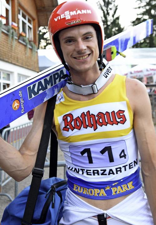 Andreas Wank freut sich auf seinen Heimwettkampf Ende Juli in Hinterzarten.   | Foto: SEEGER