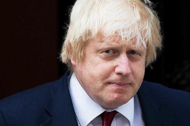 Brexit-Wortführer Johnson wird britischer Außenminister