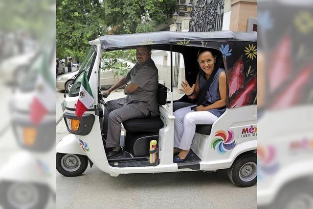 Mexikos neue Botschafterin in Indien ist Melba Pria