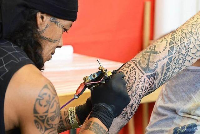 Am Freitag startet das zweite Freiburger Tattoo-Weekend