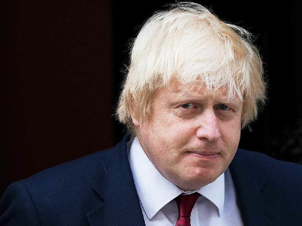 Künftiger Chefdiplomat Großbritanniens: Boris Johnson  | Foto: AFP