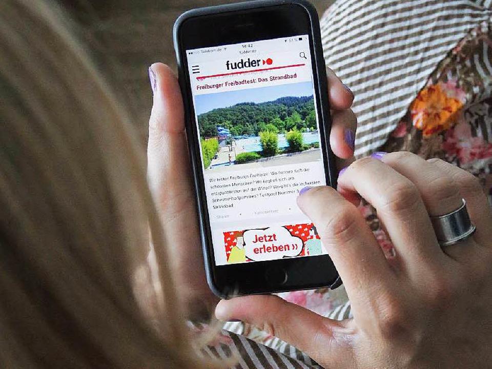 Immer mehr Nutzer lesen Fudder auf dem... nun für die mobile Nutzung optimiert.  | Foto: Benjamin Wissing