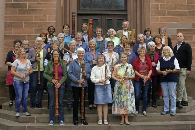 Blockflötenkreis der Kantorei in Emmendimngen