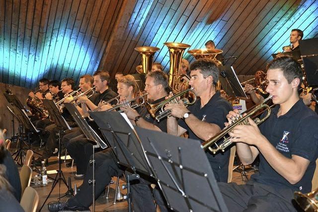 Der Musikverein Oberprechtal feiert sein Sommerfest