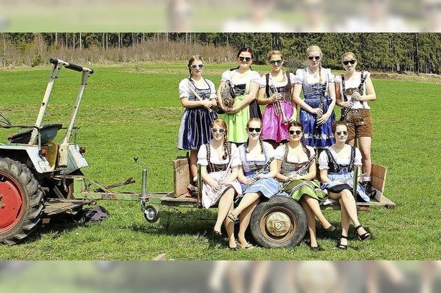 Die Gruppe KaKa=(Kappler Katastrophen Orchester) in Müllheim