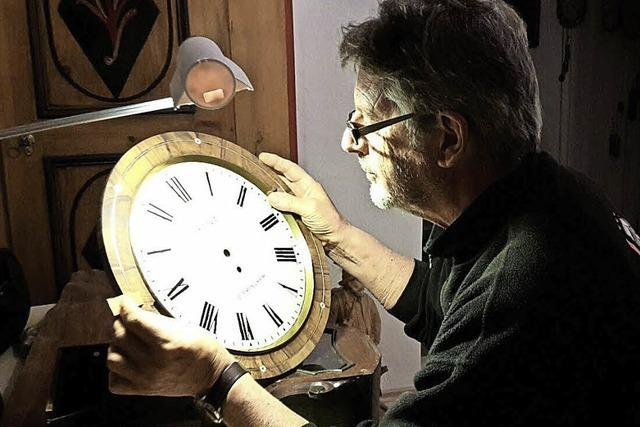 Stolz-Uhr in der Heimat