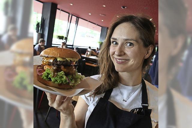 Die Burgermeisterin im Foodtruck