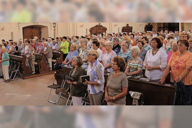 400 Frauen pilgern nach Ettenheimmünster