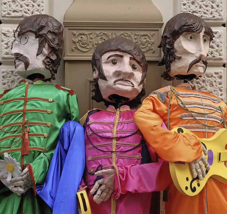 Pappmaschee-Beatles, Liverpool  | Foto: Günter Schenk