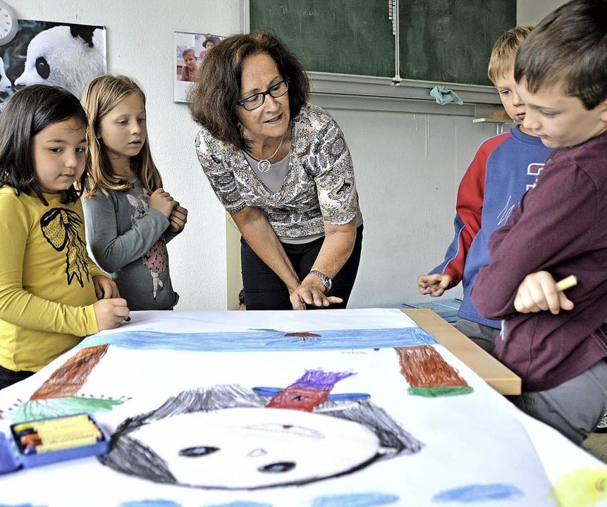 Kreative Grundschüler   | Foto: Horatio Gollin